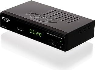 "Xoro HRM 7620 Full HD ""HEVC DVB-T/T2/C"" Kombi Receiver (HDTV, HDMI, SCART, Mediaplayer, USB 2.0, LAN, PVR Ready) schwarz"