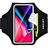 Brazalete Deportivo para Corre con Airpods Holder,HAISSKY Brazalete Móvil Deportivo para iPhone 11 Pro MAX/iPhone 11 Pro/iPho