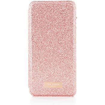 258d7055b Ted Baker SS17 Folio Style Case for iPhone 8 PLUS   7 PLUS - Fashion Mirror  Case in Sprinkling of Sparkle Illuminates for Professional Women - SPRITSIE  ...