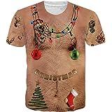 Belovecol Unisex T Shirt Summer 3D Print Tee Shirts Novelty Short Sleeve T-Shirt for Men Women