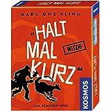 KOSMOS 740382 - Halt mal kurz, Das Känguru-Spiel, Witziges Kartenspiel von Bestsellerautor Marc-Uwe Kling, mit exklusiver Kän