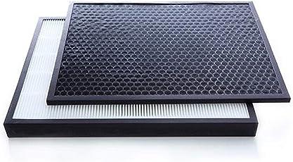 Original Replacement Filter Set (HEPA FZ-F30HFE + Carbon FZ-F30DFE) For Sharp KC-F30E-W Air Purifier