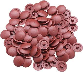 Kreuzschlitzschrauben inlzdz 100 St/ück Schraubenabdeckung selbstschneidende Schrauben Abdeckkappen aus Kunststoff f/ür Kreuzschrauben