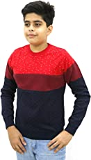 Maxexcel Krazy Gang Boy's Round Neck Cotton Pullovers