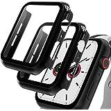 GeeRic 2PCS Pellicola Vetro Temperato Compatibile per Apple Watch 42mm Serie 3/2/1 HD Cover Resistente Urti Pellicola Copertu