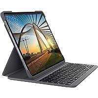 Logitech SLIM FOLIO PRO mit Hintergrundbeleuchtung, Bluetooth-Tastatur-Case, für iPad Pro 12,9 Zoll (3. und 4…