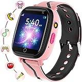 Smartklocka barn – smartwatches telefon med musik SOS spel kamera stoppur väckarklocka inspelare pekskärm ficklampa, klocka s