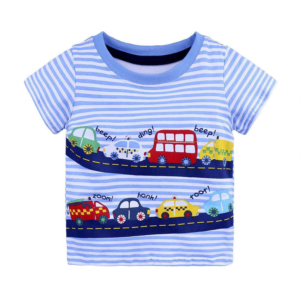 Small School Bus Short-Sleeve Tee Baby Boy