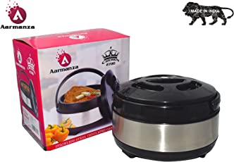 aarmanza Crown 2700 Hot-Pot Insulated Casserole Food Warmer (1800 ml)