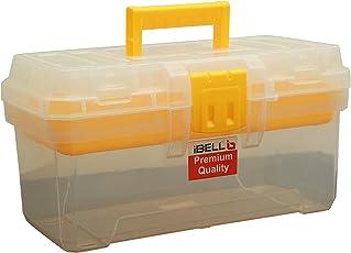 "iBELL Tool Box 39Cm (16"") Premium Virgin Plastic With 5 Organising Compartments"