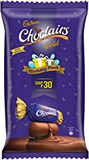Cadbury Choclairs Gold (115 Candies), 713gm Birthday Pack