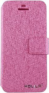 ele ELEOPTION iPhone Case PU Leder Hülle mit Standfunktion und Karte Halter Schutzhülle (iPhone 5/5S/5SE, Pink)