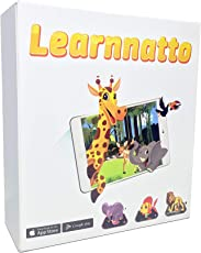Learnnatto AR Books (Augmented Educational) (iOS & Android) (Pack of 4)
