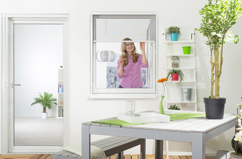 Relativ Insektenschutz Rollo Fliegengitter Insektenschutzrollo für Fenster  JJ02