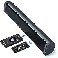 VANZEV Cassa PC Mini Soundbar Bluetooth Wireless con Tecnologia DSP 3 Modalità EQ, Supporta AUX/USB, Ideale per Desktop…