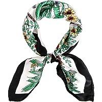 Silk Bandana Women Scarf Neck Head Hair Square Scarves Neckerchief Headwear Fashion Multifunctional Cashew Bandanas