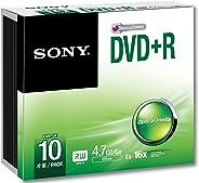 Sony DVD R 4.7 GB Slim case 10 pcs