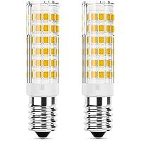 DiCUNO E14 LED Lampadina 5W (equivalente alogeno 50W), 550LM, Bianco caldo (3000K), base in ceramica E14, piccola vite…