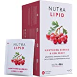 NUTRALIPID - Lipid Management Tea   Cholesterol Tea - Assists with Controlling Cholesterol - Includes Red Yeast Rice…