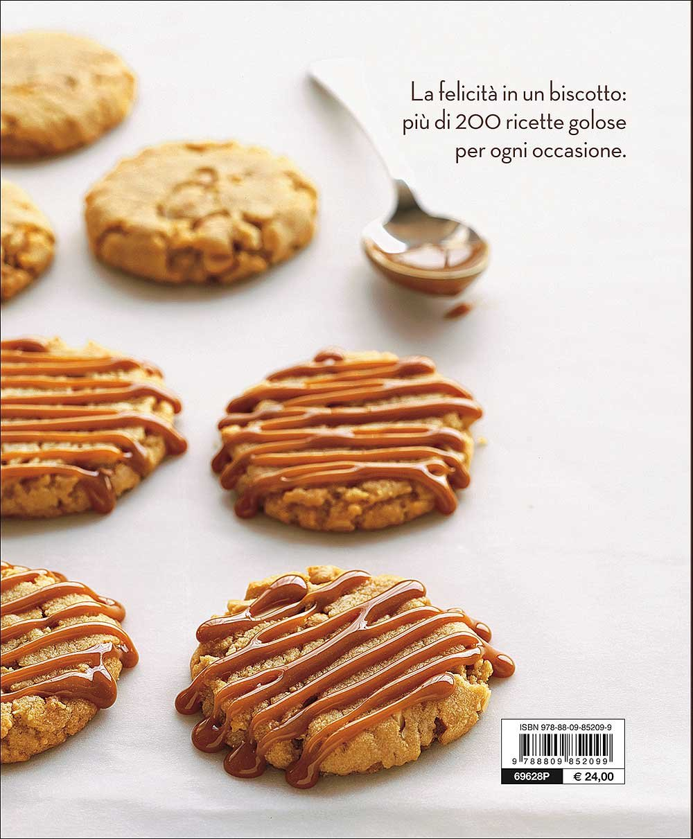71ttxKsnMmL - Biscotti. Tutte le ricette di cookies, cupcakes, shortbread, brownies...