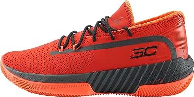 Under Armour Sc 3zer0 Iii Scarpe da Basket Uomo, Rosso (Red/Jet Gray/Black (601) 601), 47.5 EU