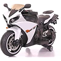 SHAKYA WORLD Battery Operated Electric Sports Ride on R1 Sports Ride on Battery Bike for 1-7 Years Kids/Boys/Girls with…