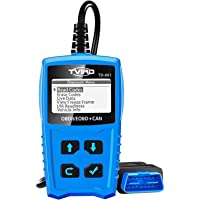 OBD2 Diagnosegerät Auto Diagnosewerkzeuge Tvird Universal Diagnose Scanner für alle Fahrzeuge ab 2000 mit OBD II…