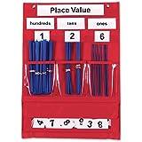 Tableau à poches de valeurs de place et de calcul de Learning Resources