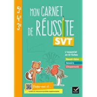 Mon carnet de réussite SVT 5e 4e 3e - Ed 2021 - Cahier élève