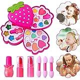 Ulikey Trucchi Bambina Set, Lavabile Makeup Set di Cosmetici per Bambini Trucco Ragazza Giocattolo per Bambini Trucco Ragazza