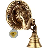 VRJ METAL HUB Brass Elephant Mouth Door Knocker | Home Decor | Door Decor | Brass Door Knocker