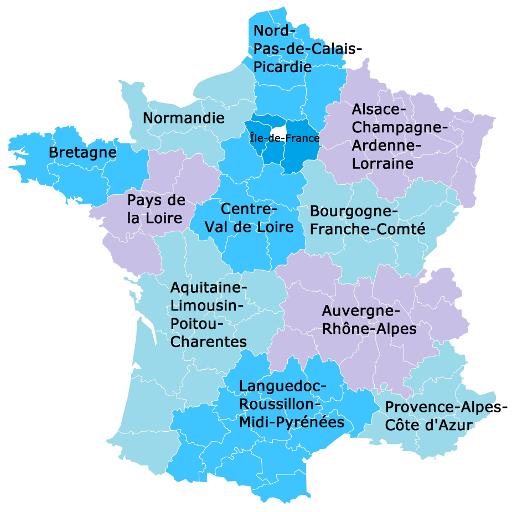 Abteilungen von Frankreich