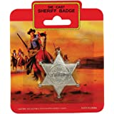 Bristol Novelty BA337 Sheriff Badge Metal, Mens, One Size