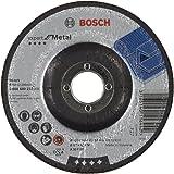 Bosch 2608600223 Meule à ébarber à moyeu déporté expert for metal A 30 T BF 125 mm 6,0 mm