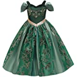 OBEEII Kids Princess Dress Fancy Embroidery Dress Up for Girls Cosplay Show Christmas Carnival Birthday Party Easter…