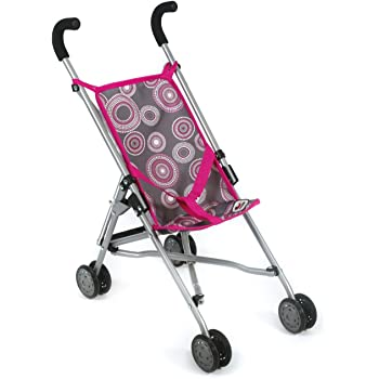Babypuppen & Zubehör Puppenwagen Bayer Chic 2000 Mini-Buggy Roma Dots Purple-Pink