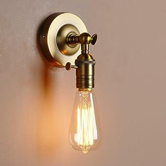Pathson Métal Réglable Applique en Métal Lampe Rétro Industrial ...