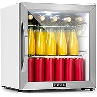 KLARSTEIN Beersafe - Réfrigérateur, Porte vitrée panoramique, Panneau de contrôle, Affichage numérique, Eclairage…