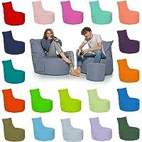 HomeIdeal - Gamer Sitzsack Lounge Bodenkissen für Erwachsene & Kinder - Gaming oder Entspannen - Indoor & Outdoor da er…
