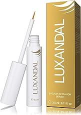 LUXANDAL EYELASH ACTIVATING SERUM – Wimpernserum für ein stärkeres Wimpernwachstum, mehr Dichte und eine sinnlichere, dunklere Farbe der Wimpern | mit Hyaluronsäure | 3,0 ml | tierversuchsfrei I