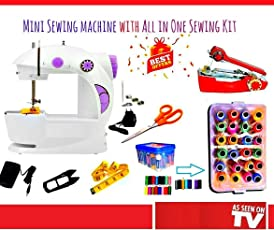 Sewing Machines for Home Mini BestSeller | Portable | Sewing kit for Stiching | Sewing Accessories | Thread Set