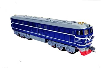 Emob Battery Operated Moving Train Toy with Realistic Light and Sound