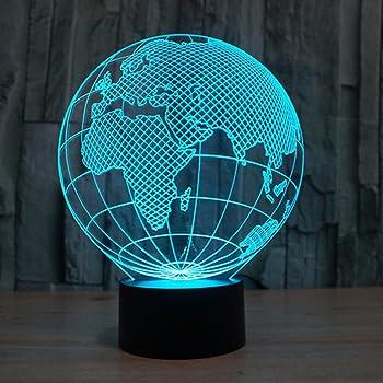 ... Alimenté par USB 7 couleurs clignotant tactile commutateur Décoration  de chambre à coucher éclairage pour les enfants cadeau de Noël 4097bab6703a
