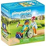 Playmobil - Patient en Fauteuil Roulant - 70193
