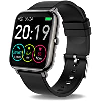 Motast Smartwatch, fitness watch 1.4 inch full touchscreen fitness tracker with heart rate monitor and ...