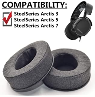 Earpad Replacement for SteelSeries Arctis 3 Arctis 5: Amazon