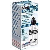 NeilMed Neusdouche helpt bij verkoudheid, verstopte neus, eenvoudig te gebruiken, direct leverbaar met 10 porties neusspoelzo