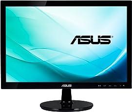 Asus VS197DE 47 cm (18,5 Zoll) Monitor (VGA, 5ms Reaktionszeit) schwarz