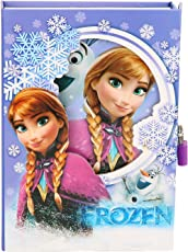 Asera Frozen Lock Diary for Girls Gifts Options- Purple Colour