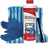 Maxxi Clean Nettoyant pour four 500-ml Gel avec pinceau nettoyant pour fours et barbecues inclus | Élimine les saletés tenace